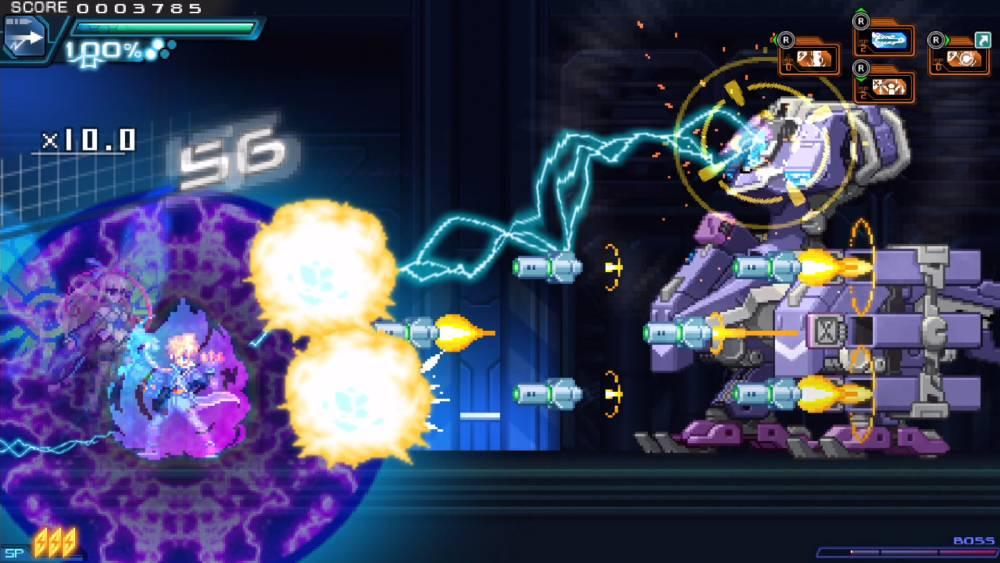 Screenshot de Azure Striker Gunvolt 2