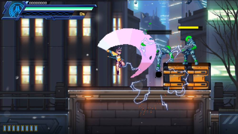 Screenshot de Azure Striker Gunvolt 3