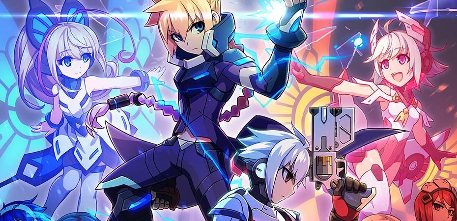 Arte de Azure Striker Gunvolt 2