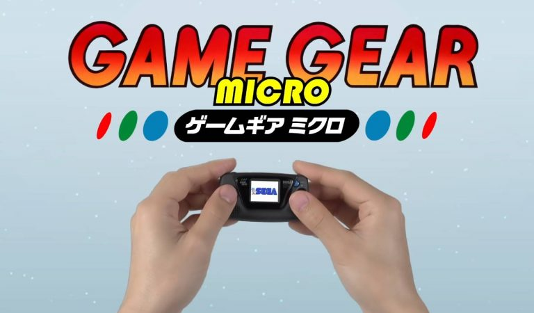 Game Gear Micro é anunciado e será lançado em outubro no Japão