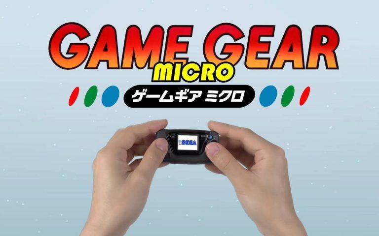 Imagem promocional do Game Gear Micro