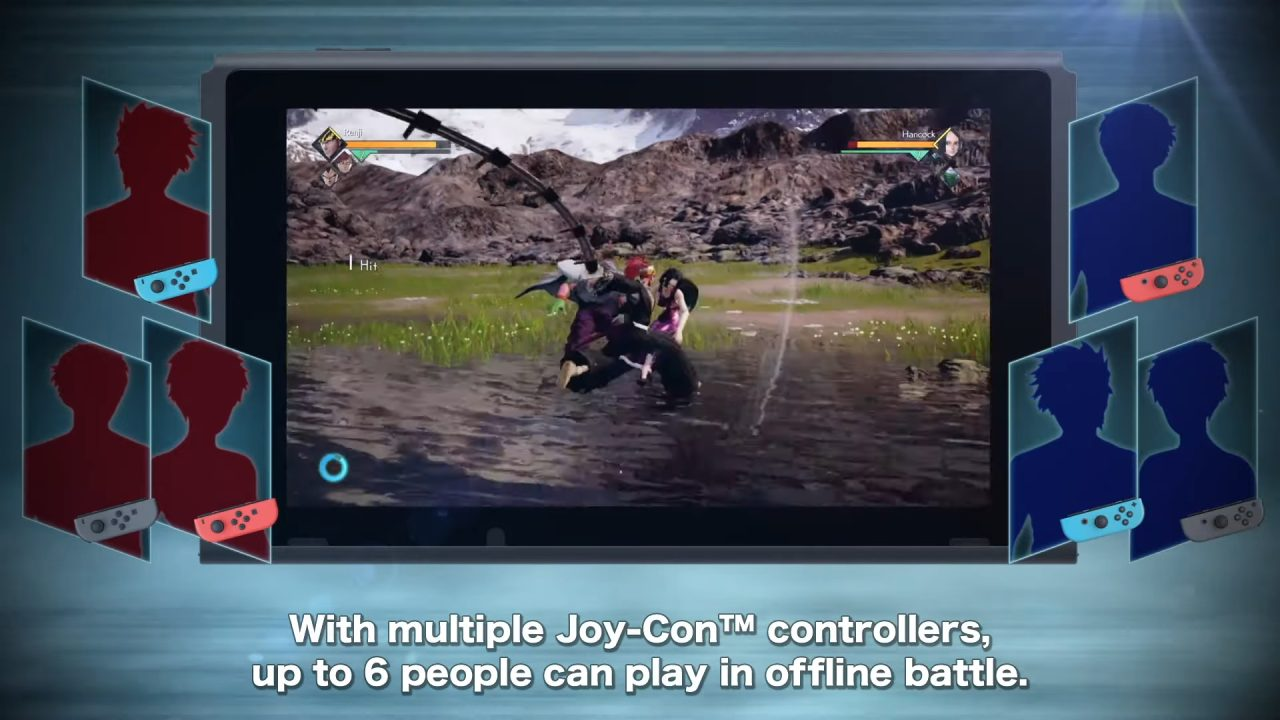Jump Force multiplayer