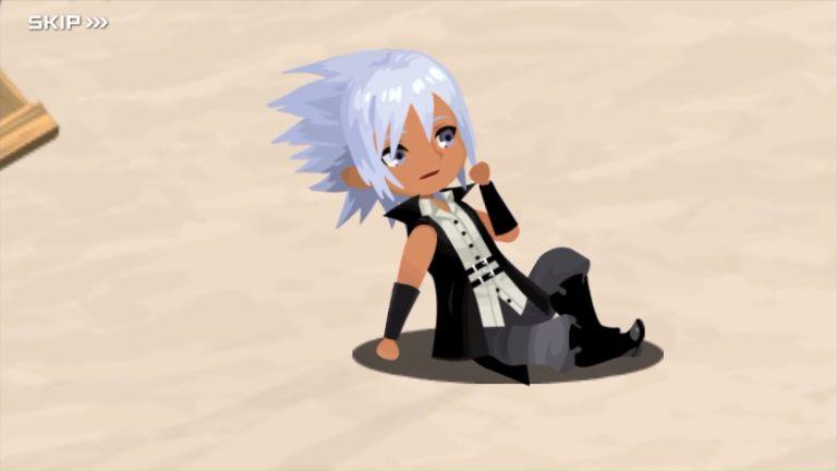 Screenshot de Kingdom Hearts: Dark Road