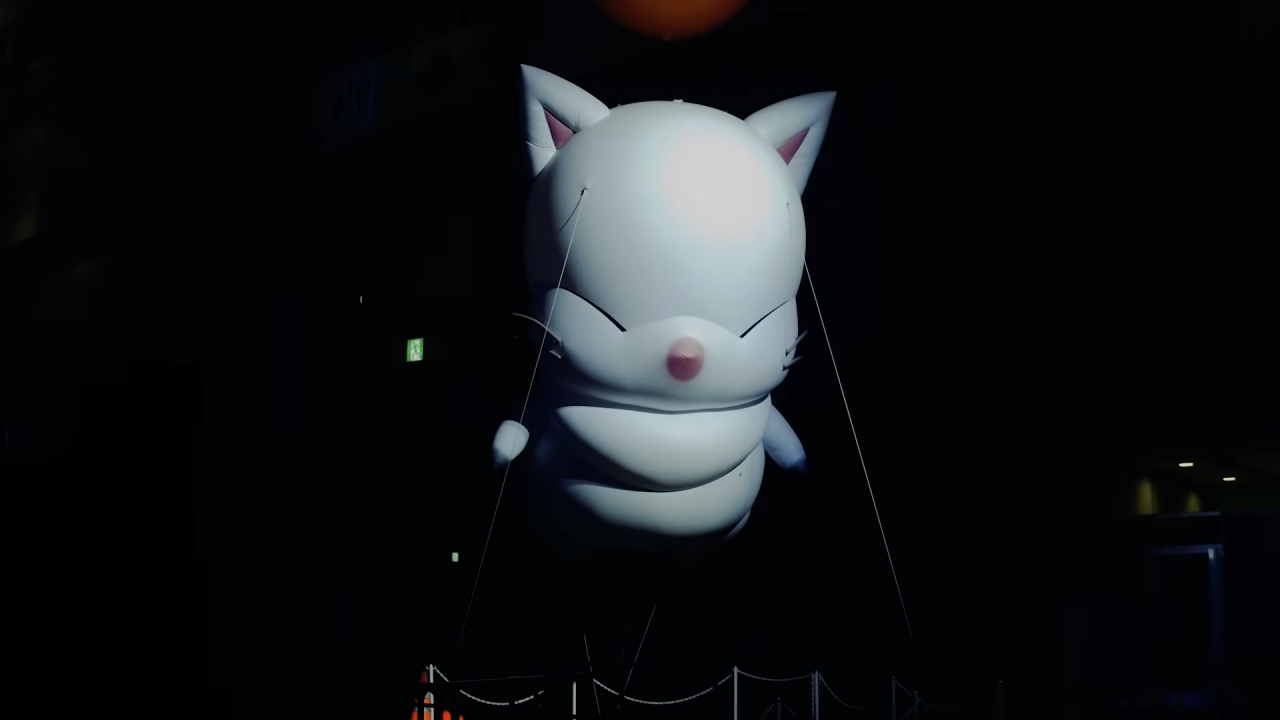 Final Fantasy XIV Festival Moogle