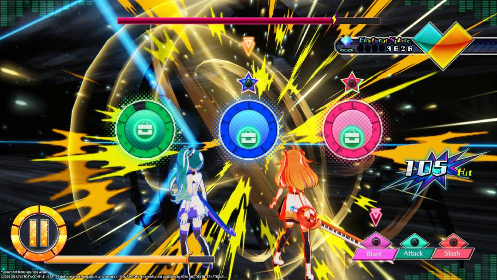 Screenshot de Neptunia Virtual Stars