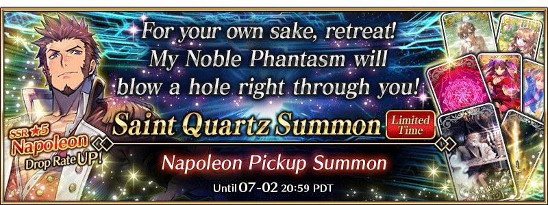 Fate/Grand Order Napoleon banner