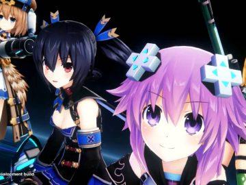 Screenshot de Neptunia Virtual Stars