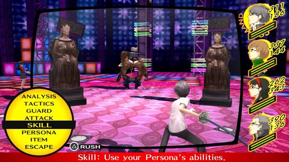 Screenshot de Persona 4 Golden