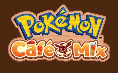 Logotipo de Pokémon Café Mix