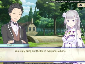 Screenshot de Re:Zero - The Prophecy of the Throne