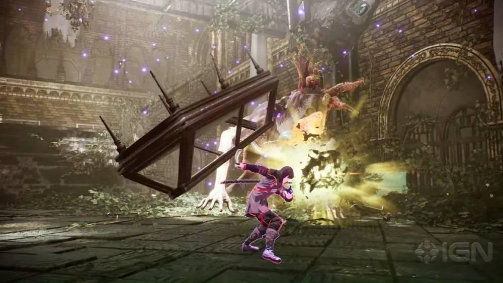 Screenshot de Scarlet Nexus