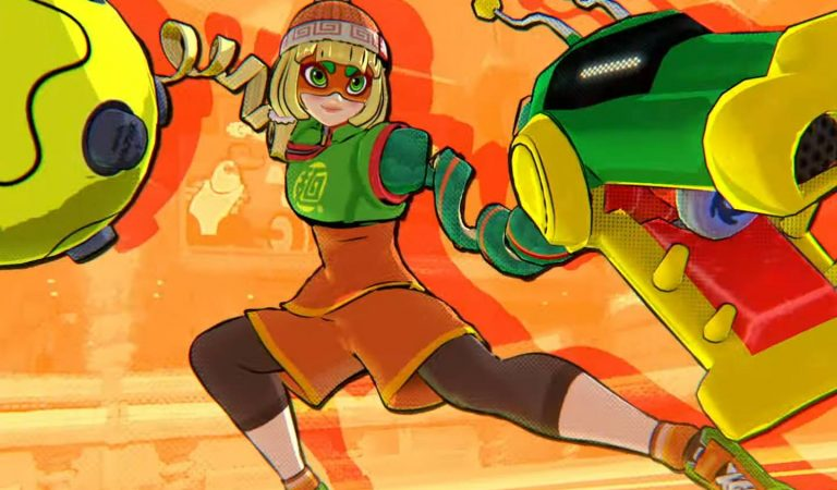 Min Min de ARMS é anunciada para Super Smash Bros. Ultimate