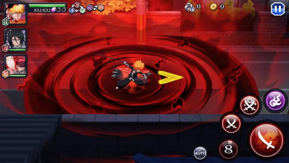 Screenshot de Bleach Brave Souls