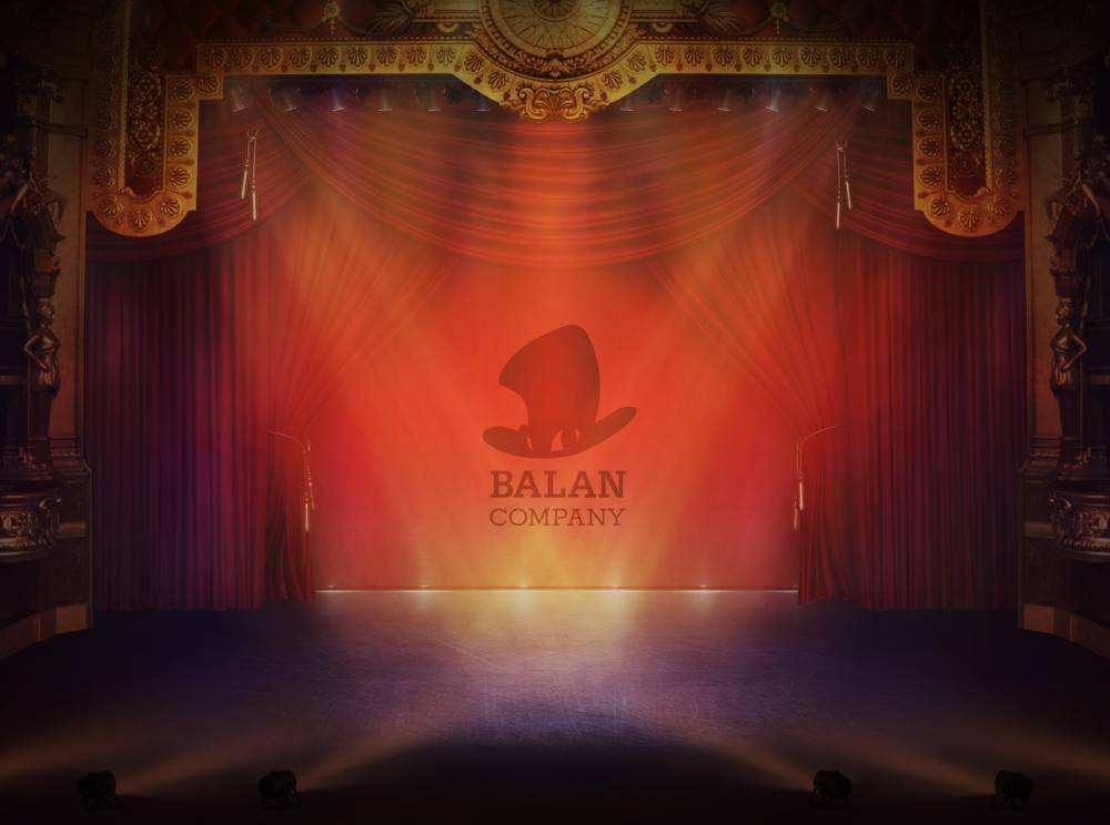 Arte promocional da Balan Company da Square Enix