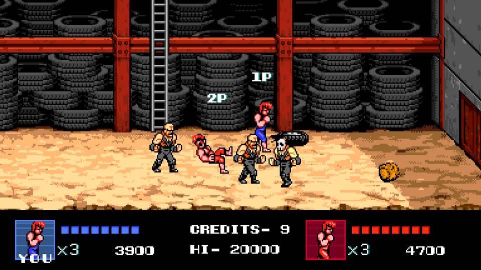 Screenshot de Double Dragon IV