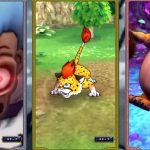 Captura de tela de vídeo promocional de Dragon Quest Tact
