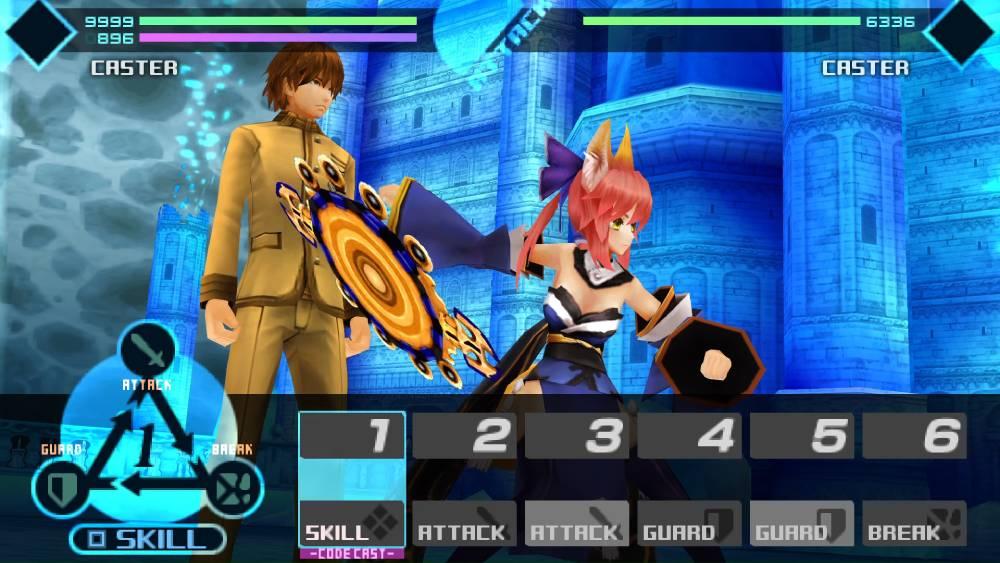 Screenshot de Fate/Extra