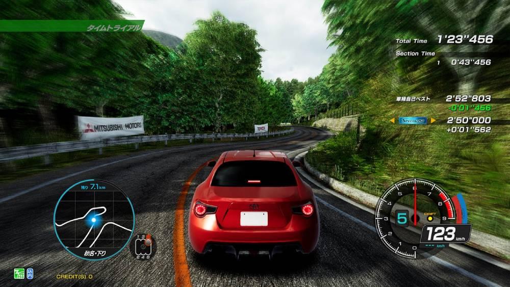 Screenshot de Initial D the Arcade