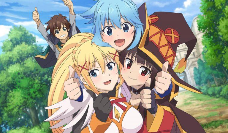 Nova visual novel de KonoSuba recebe data de lançamento no Japão