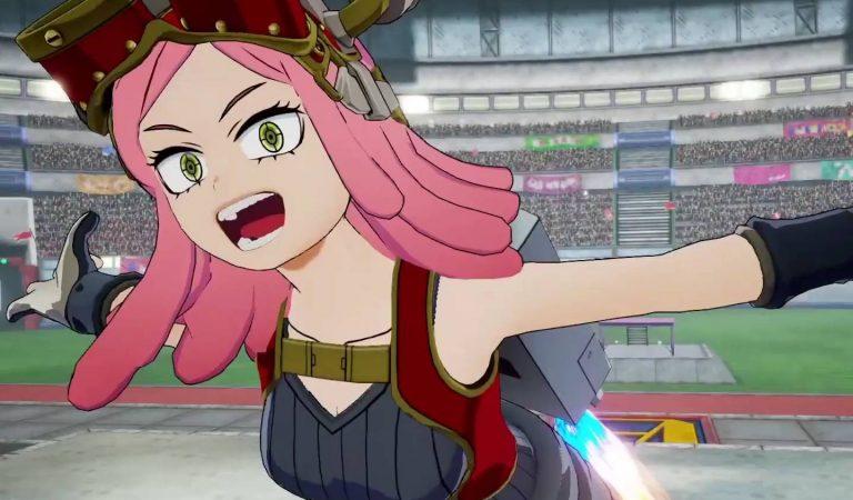 Mei Hatsume é destaque em novo trailer de My Hero One's Justice 2