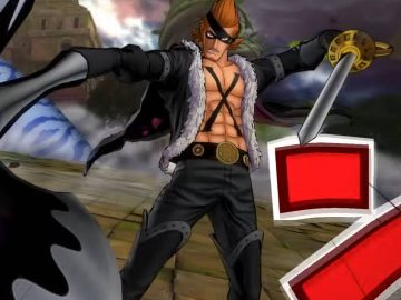Screenshot de X Drake em One Piece: Burning Blood