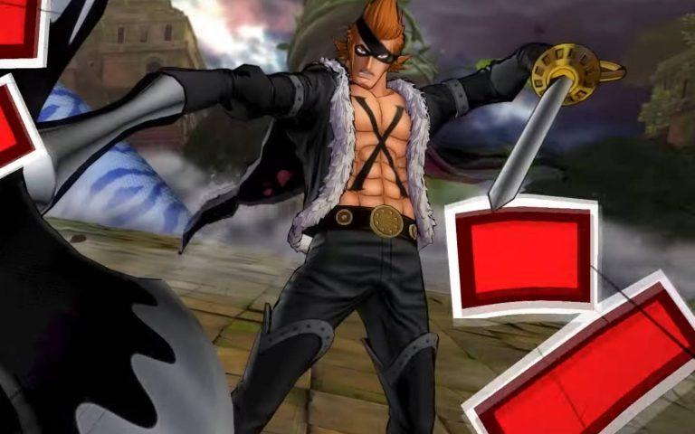 Screenshot de X Drake em One Piece: Burning Blood