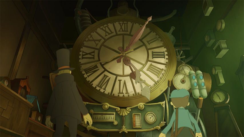 Screenshot de Professor Layton and the Lost Future HD for Mobile
