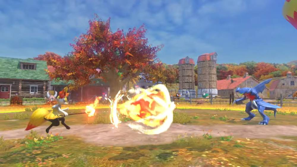 Screenshot de Pokkén Tournament DX