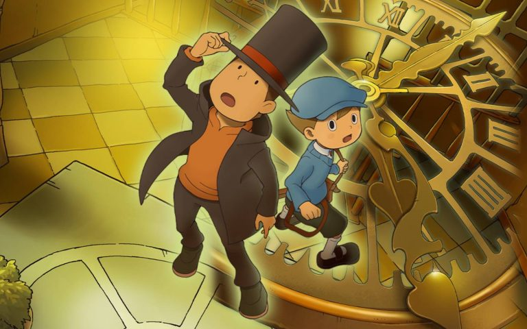 Arte de Professor Layton and the Lost Future HD for Mobile