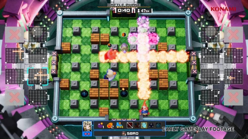 Screenshot antecipada de Super Bomberman R Online