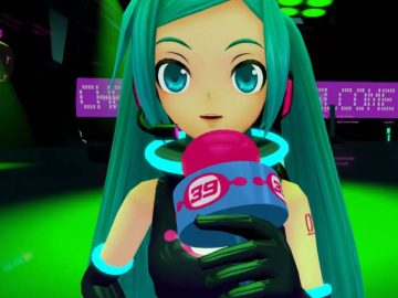 Screenshot de Space Channel 5 VR: Kinda Funky News Flash