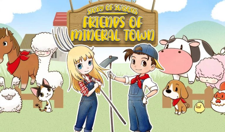 Story of Seasons: Friends of Mineral Town l O bom neto a fazendinha torna