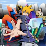 Arte de The World Ends with You: The Animation
