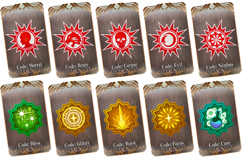 Fate/Grand Order Command Codes