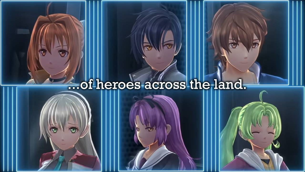 Trails of Cold Steel IV personagens