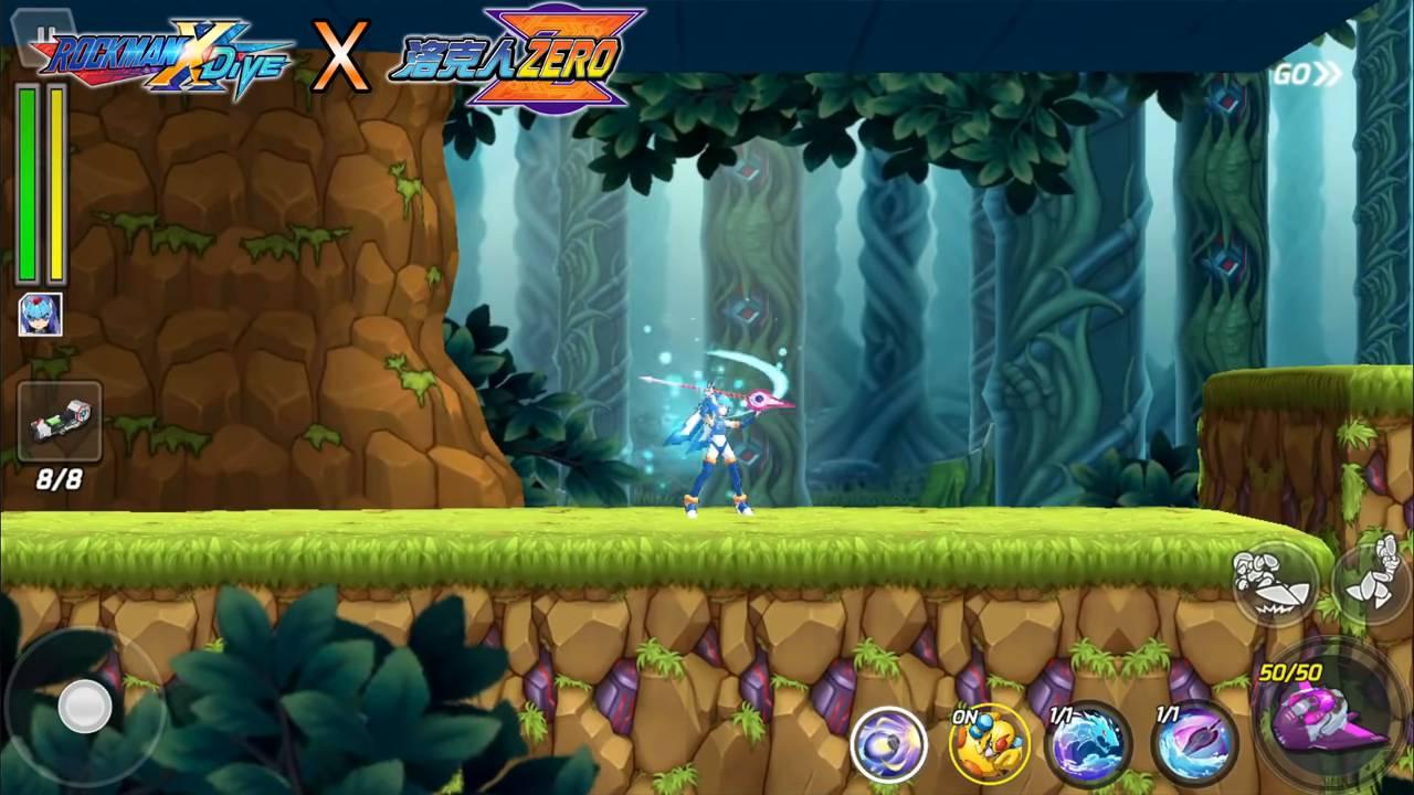 Mega Man X DiVE Leviathan