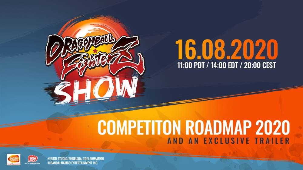 Imagem promocional do evento Dragon Ball FighterZ Show