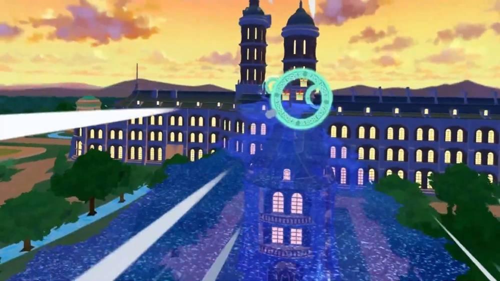 Screenshot de Little Witch Academia: VR Broom Racing
