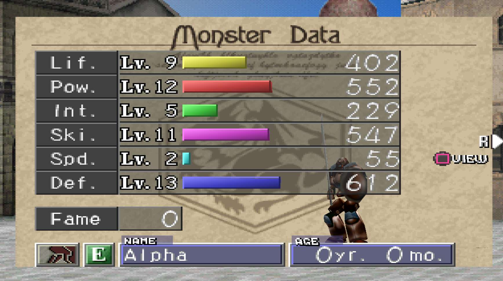Monster Rancher 2 gameplay