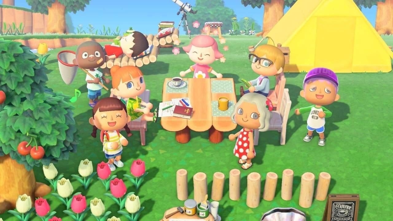 Animal Crossing: New Horizons Picnic