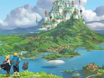 Arte de Ni no Kuni: Cross Worlds