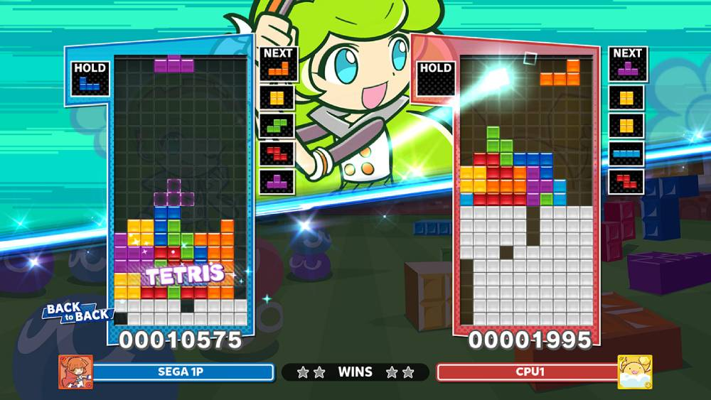 Screenshot de Puyo Puyo Tetris 2