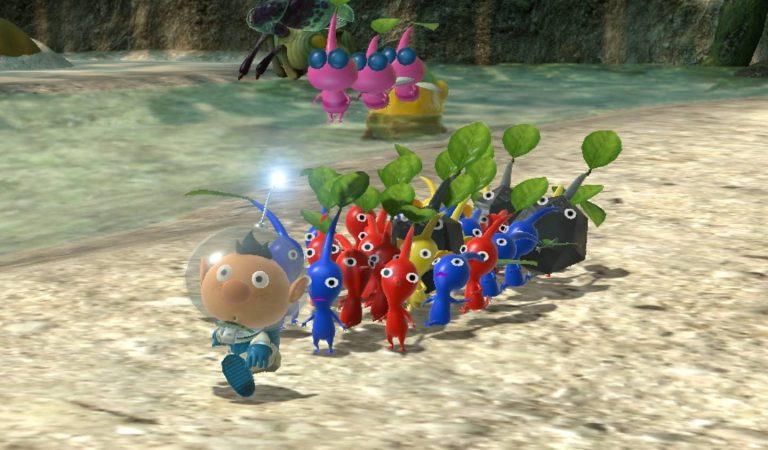 Pikmin 3 Deluxe chegará para Nintendo Switch em outubro