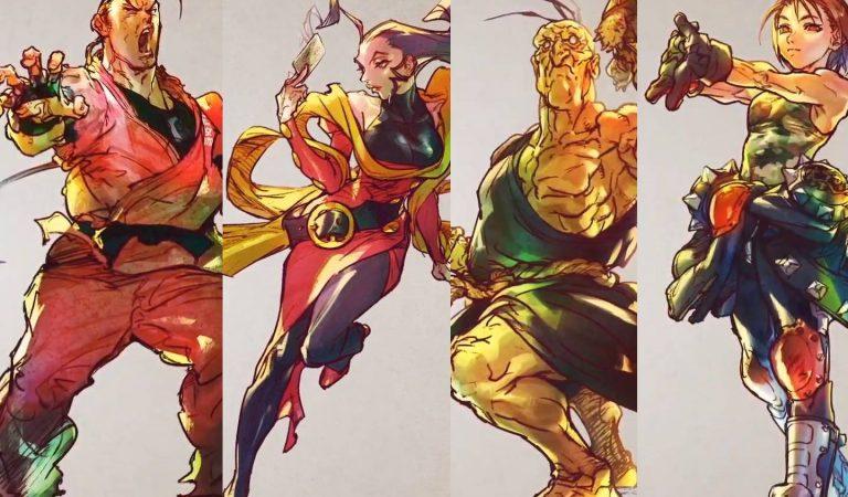 Street Fighter V revela quatro personagens adicionais da Season V