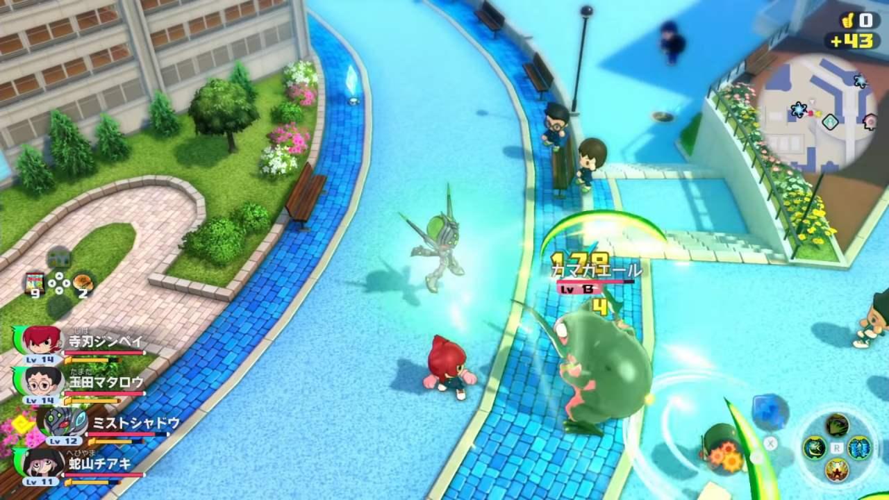 Yo-Kai Watch Jam Gameplay
