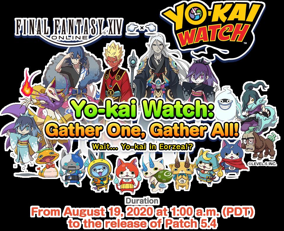 Final Fantasy XIV Evento Yo-Kai Watch