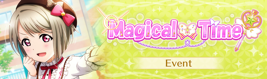 Love Live! All Stars evento magical time