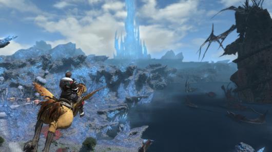 Final Fantasy XIV vôo