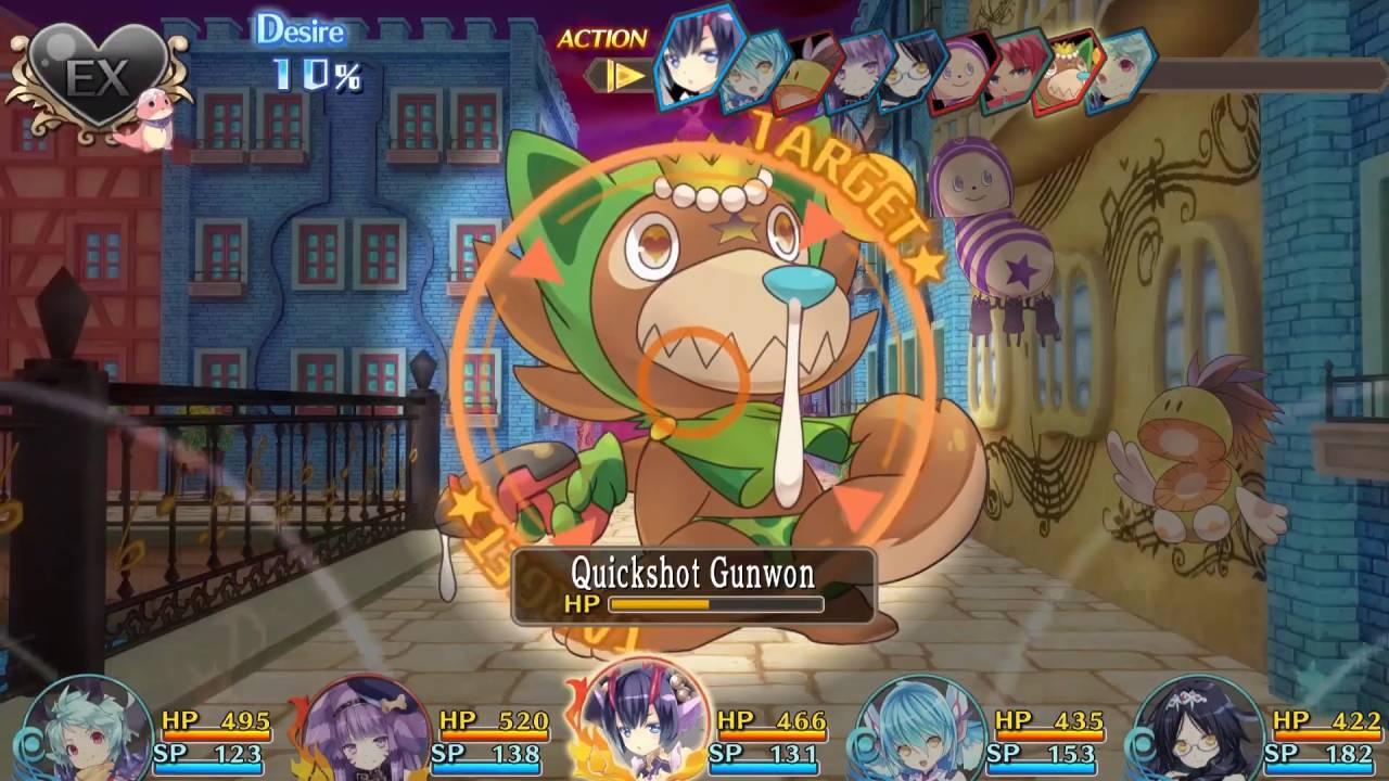Moero Crystal H gameplay