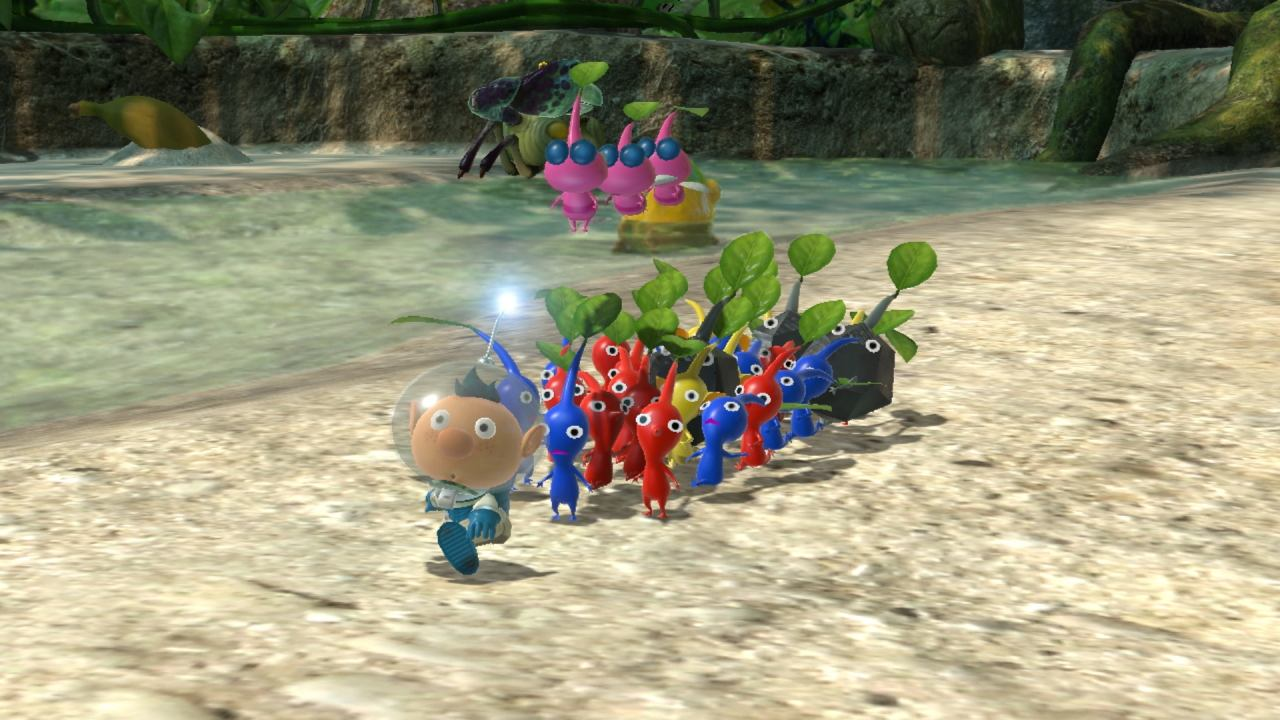 Pikmin 3 Deluxe marcha